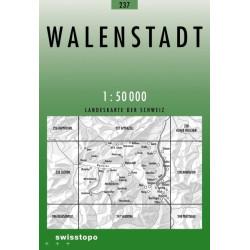 Achat Carte randonnées swisstopo - Walenstadt - 237