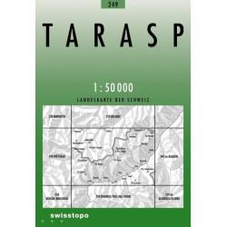 Achat Carte randonnées swisstopo - Tarasp - 249