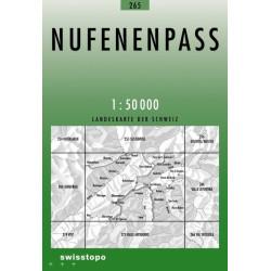 Achat Carte randonnées swisstopo - Nufenenpass - 265