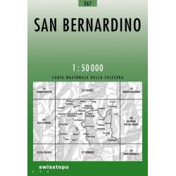 Achat Carte randonnées swisstopo - San Bernardino - 267