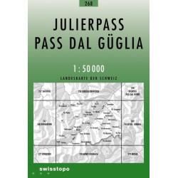 Achat Carte randonnées swisstopo - Julierpass - 268