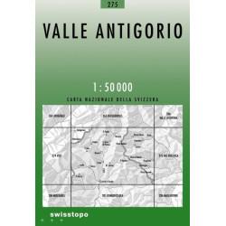 Achat Carte randonnées swisstopo - Valle Antigorio - 275