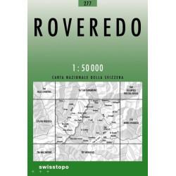 Achat Carte randonnées swisstopo - Roveredo - 277