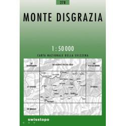 Achat Carte randonnées swisstopo - Monte Disgrazia - 278