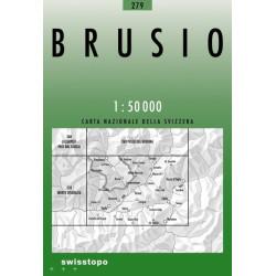 Achat Carte randonnées swisstopo - Brusio - 279