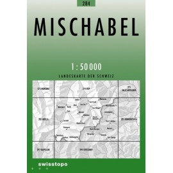 Achat Carte randonnées swisstopo - Mischabel - 284