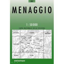 Achat Carte randonnées swisstopo - Menaggio - 287