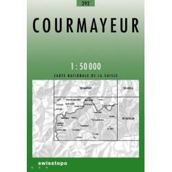 Achat Carte randonnées swisstopo - Courmayeur -292