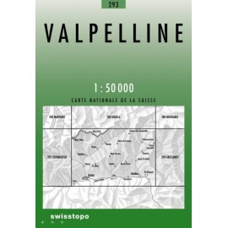 Achat Carte randonnées swisstopo - Valpelline - 293
