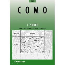 Achat Carte randonnées swisstopo - Como - 297