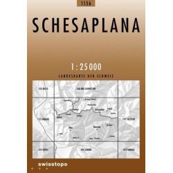 Achat Carte randonnées swisstopo - Schesaplana - 1156