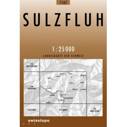 Achat Carte randonnées swisstopo - Sulzfluh - 1157