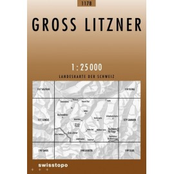 Achat Carte randonnées swisstopo - Gross Litzner - 1178