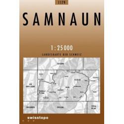 Achat Carte randonnées swisstopo - Samnaun - 1179