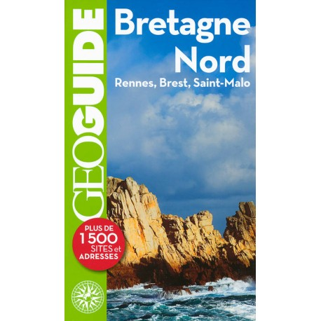 Achat Geoguide Bretagne Nord Guide Gallimard