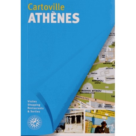 Achat Cartoville Athènes - Guide Gallimard Athènes