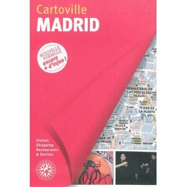Achat Cartoville Madrid - Guide Gallimard Madrid