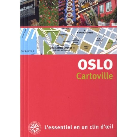 Achat guide voyage Cartoville Oslo - Gallimard