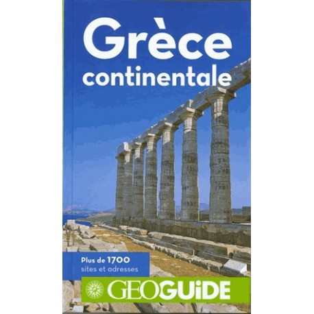 Achat Geoguide Grèce continentale Guide Gallimard