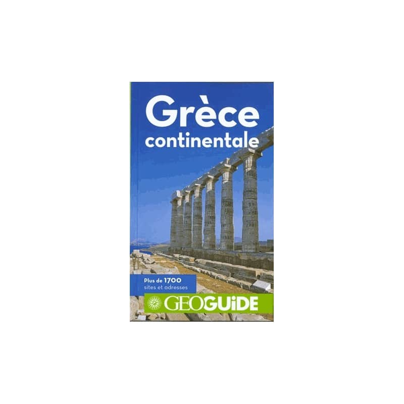 Achat geoguide gr ce continentale guide gallimard for Sejour complet grece