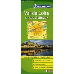 Achat Carte routière Michelin - Val de Loire et ses châteaux - Zoom 116