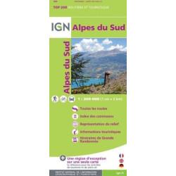 Achat Carte routière IGN - Alpes du Sud