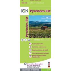 Achat Carte routière IGN - Pyrénées est
