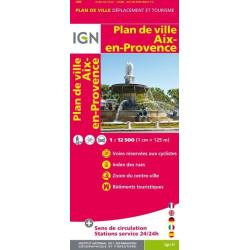 Achat Plan de ville Aix en Provence - IGN