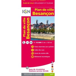 Achat Plan de ville Besançon - IGN