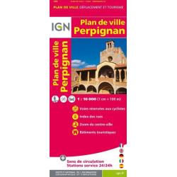 Achat Plan de ville Perpignan - IGN