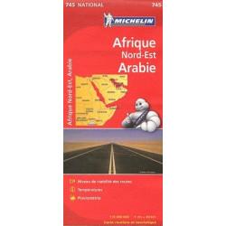 Afrique Nord-Est Arabie - Michelin 745