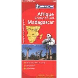 Afrique centre et sud Madagascar - Michelin 746