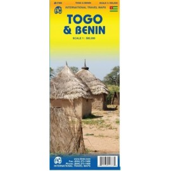 Achat Carte routière - Togo Benin - ITM