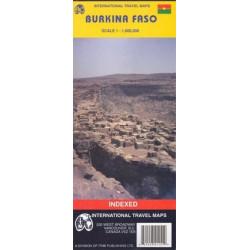 Achat Carte routière - Burkina Faso - ITM