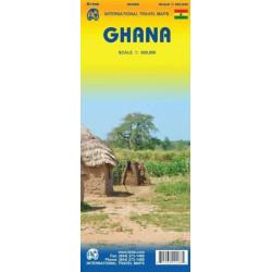 Achat Carte routière - Ghana - ITM