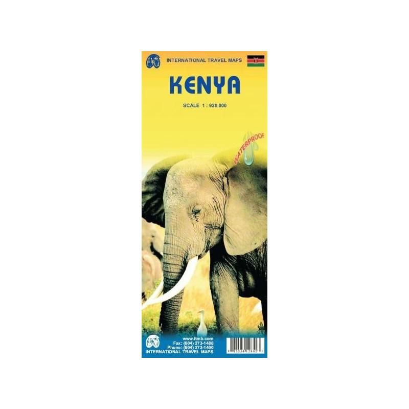 Achat Carte routière - Kenya - ITM