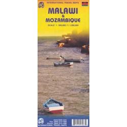 Achat Carte routière - Malawi, Mozambique - ITM