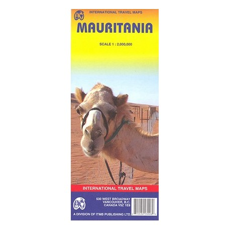 Achat Carte routière - Mauritanie - ITM
