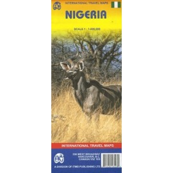 Achat Carte routière - Nigeria - ITM