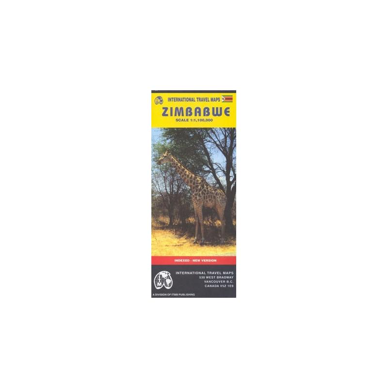Achat Carte routière - Zimbabwe - ITM
