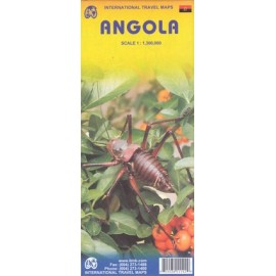 Achat Carte routière - Angola - ITM