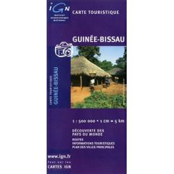 Achat Carte routière IGN - Guinée-Bissau