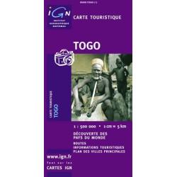 Achat Carte routière IGN - Togo