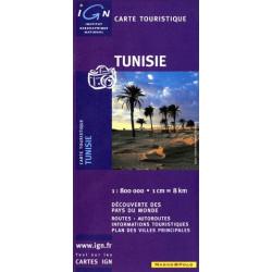 Achat Carte routière IGN - Tunisie
