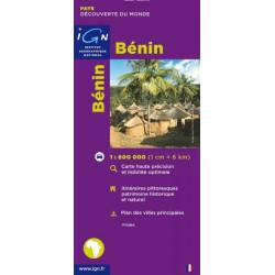 Achat Carte routière IGN - Bénin