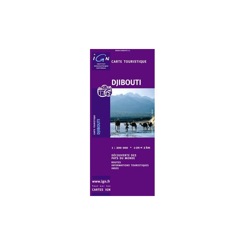 Achat Carte routière IGN - Djibouti