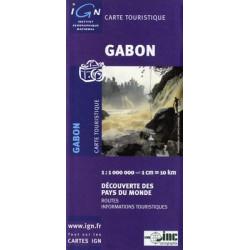 Achat Carte routière IGN - Gabon