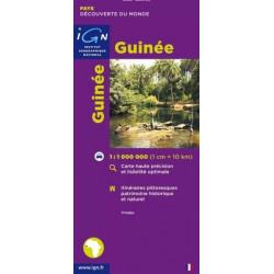 Achat Carte routière IGN - Guinée