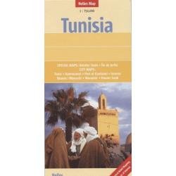 Achat Carte routière - Tunisie - Nelles