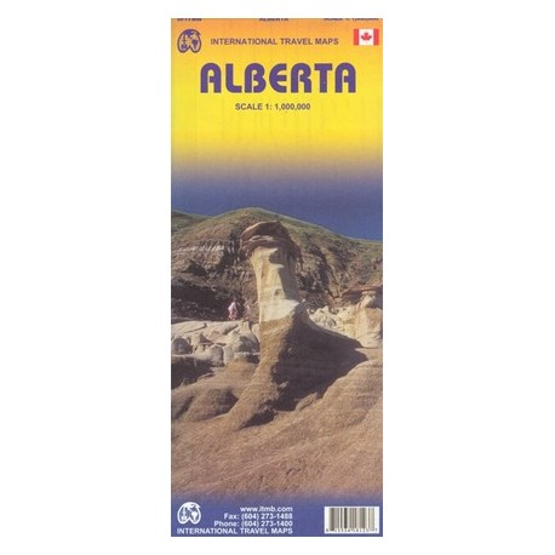 Achat Carte routière - Alberta - ITM